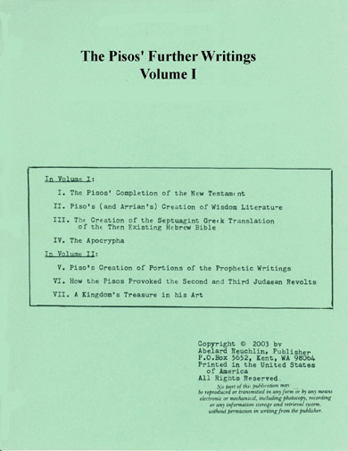 Pisos' Further Writings