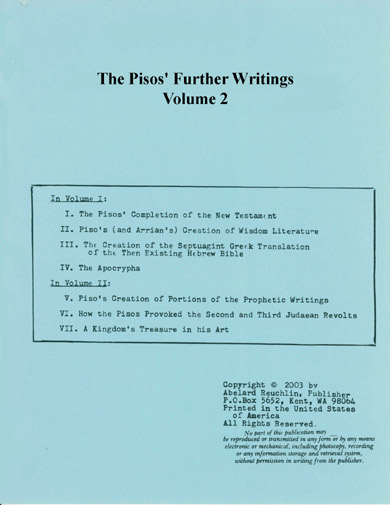 Pisos' Further Writings-vol2